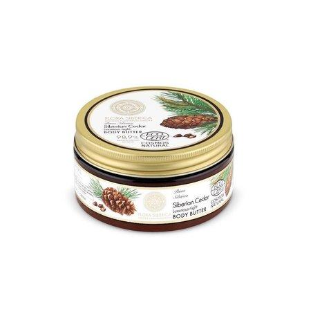 Flora Siberica  Siberian Cedar Luxurious Night Body Butter, 300 ml