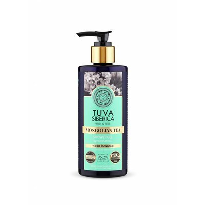 Tuva Siberica  Mongolian Tea. Invigorating Shower Gel, 300 ml