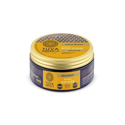 Tuva Siberica  Sayan Honey. Reviving Body Scrub, 300 ml