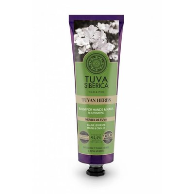 Tuva Siberica  Tuvan Herbs. Rejuvenating Balm For Hands And Nails, 75 ml