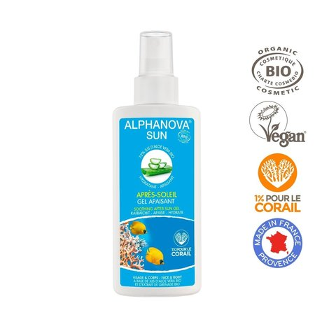 Alphanova Sun ALPHANOVA SUN AFTER SUN BIO Spray 125ml