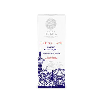 Natura Siberica Mon Amour Replenishing Face Mask, 100 ml