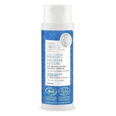 Natura Siberica Organic Certified Balancing Micellar Lotion for oily & combination skin 150ml