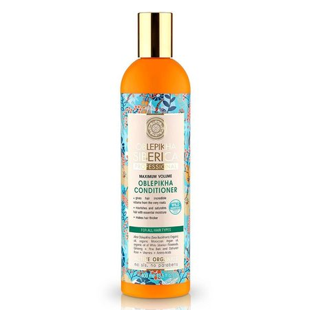 Natura Siberica Oblepikha Conditioner Maximum Volume ( All Hair Types ) 400 ml