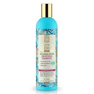 Natura Siberica Oblepikha Shampoo Deep Cleansing and Care  400 ml