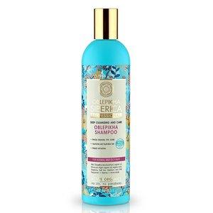 Natura Siberica Oblepikha Shampoo Tiefenreinigung und Pflege 400 ml