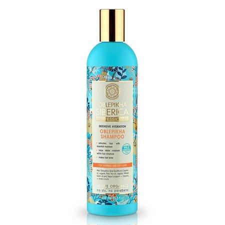 Natura Siberica Oblepikha Shampoo Intensive Hydration ( Normal and Dry Hair ) 400 ml