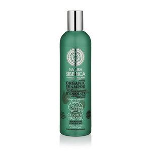 Natura Siberica Shampoo Volumen und Frische für fettiges Haar 400ml.