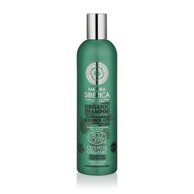 Natura Siberica Gecertificeerde organische Shampoo volume en frisheid voor vet haar 400ml.