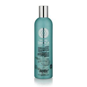 Natura Siberica Shampoo Ernährung und Hydratation für trockenes Haar 400ml.