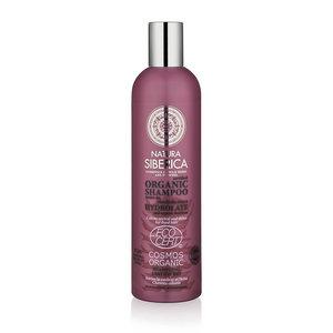 Natura Siberica Shampoo kleurherstel en glans voor geverfd haar 400ml.