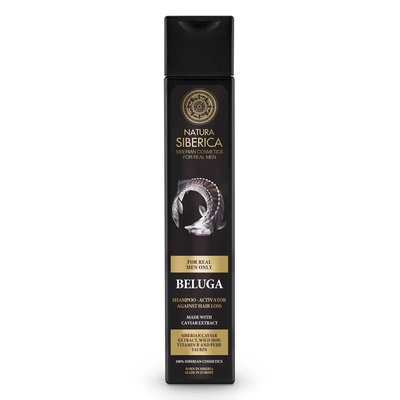 Natura Siberica Beluga Haarshampoo-Aktivator gegen Haarausfall 250 ml