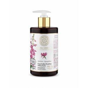 Flora Siberica Kamtschatka Rosebay Weidenröschen Shampoo, Luxuriöses Volumen, 480 ml