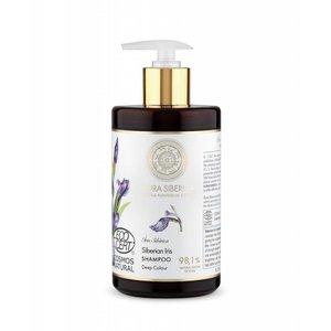 Flora Siberica Sibirische Schwertlilie Shampoo, Tiefe Farbe, 480 ml