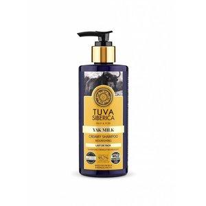 Tuva Siberica Yak-Milch, Pflegendes Cremiges Shampoo, 300 ml