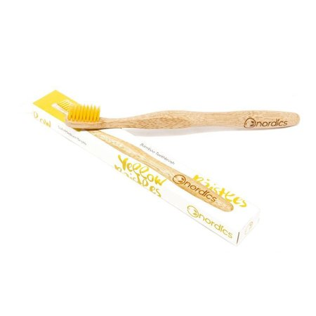 Nordics Toothbrush yellow