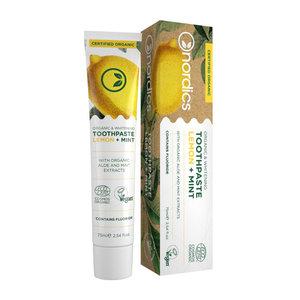 Nordics Tandpasta Lemon Mint BIO met fluoride