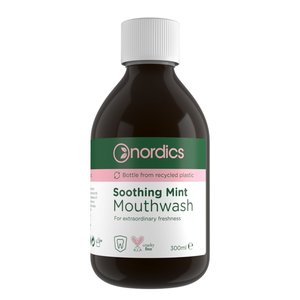 Nordics Mouthwash Soothing Mint 300ml