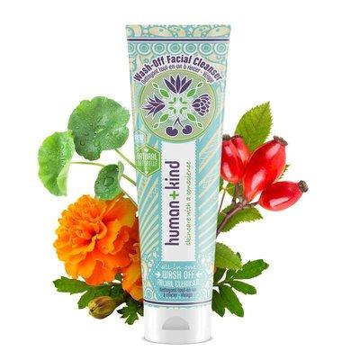 Human + Kind Wash Off Facial CleanserVegan met GRATIS reinigingsdoekje