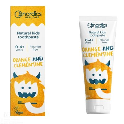 Nordics Tandpasta Kids Orange Clementine 50ml