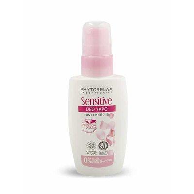 Phytorelax Deodorant spray met centifolia roos  voor de gevoelige huid, 75ml