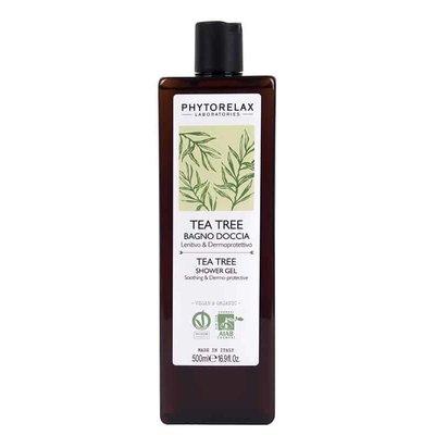 Phytorelax Beruhigendes & dermo-protektives Duschgel - Teebaumöl, 500ml