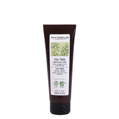 Phytorelax Feuchtigkeitsspendende und schützende SOS-Gelcreme für beanspruchte Haut - Teebaum, 125ml