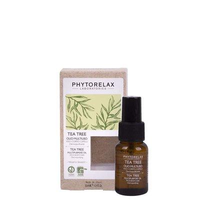 Phytorelax Multifunctionele huidzuiverende olie gezicht-lichaam-haar - tea tree, 30ml