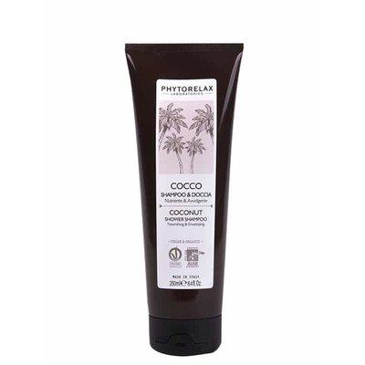 Phytorelax Voedende & weldadige douche shampoo - kokosnoot, 250ml