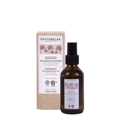 Phytorelax Multifunktionales nährendes & pflegendes Trockenöl - Kokosnuss, 100ml