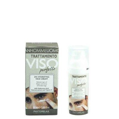 Phytorelax 24 Std. feuchtigkeitsspendende Gesichtscreme - für Männer, 50ml