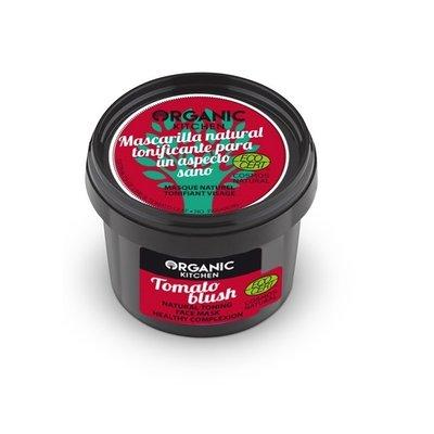 Organic Kitchen Tomato Blush Natuurlijk tonifiërend gezichtsmasker, 100ml