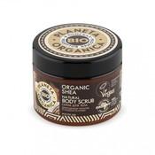 Planeta Organica Bio-Shea Natural Body Scrub, 300 ml
