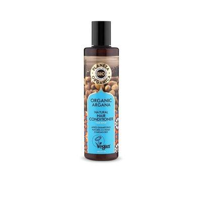 Planeta Organica Natuurlijke conditioner met Argan, voor voeding en herstel, 280 ml