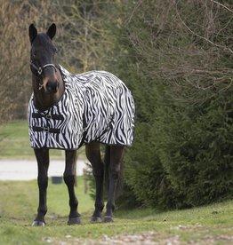 """Equi Theme """"Zebra"""" mesh deken vliegendeken"""