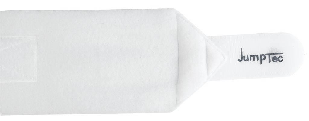 Dubbelzijdige polo bandages Wit