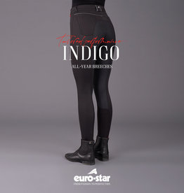 Euro Star rijbroek Indigo Fullseat