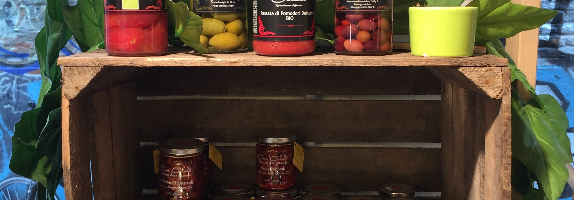 Gourmet producten uit Italië