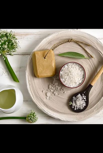 Workshop creatief met zeep, zout & sojawas