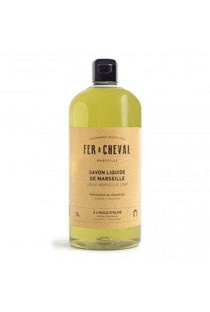 Vloeibare Marseille zeep olive 1 liter