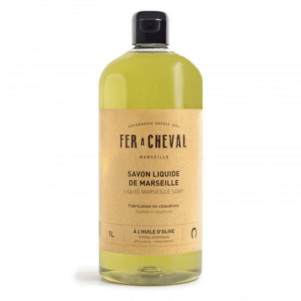 Vloeibare Marseille zeep olive 1 liter-1