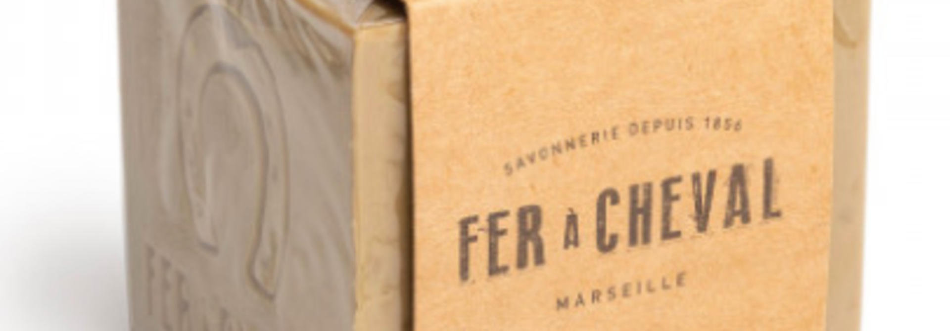 Groene Marseille zeep cube olive 300g