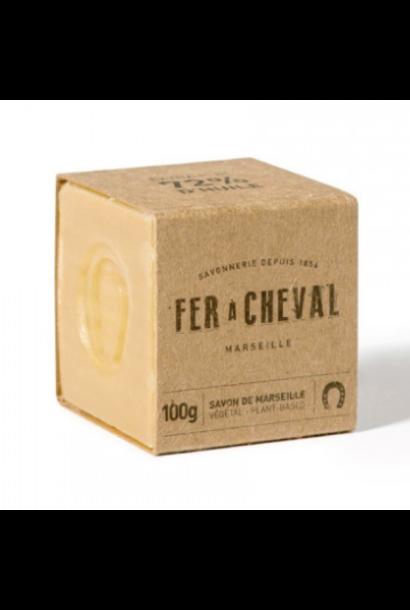 Witte Marseille zeep cube vegetal 100g