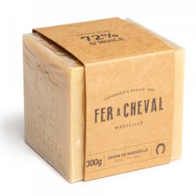 Witte Marseille zeep cube vegetal 300g-1