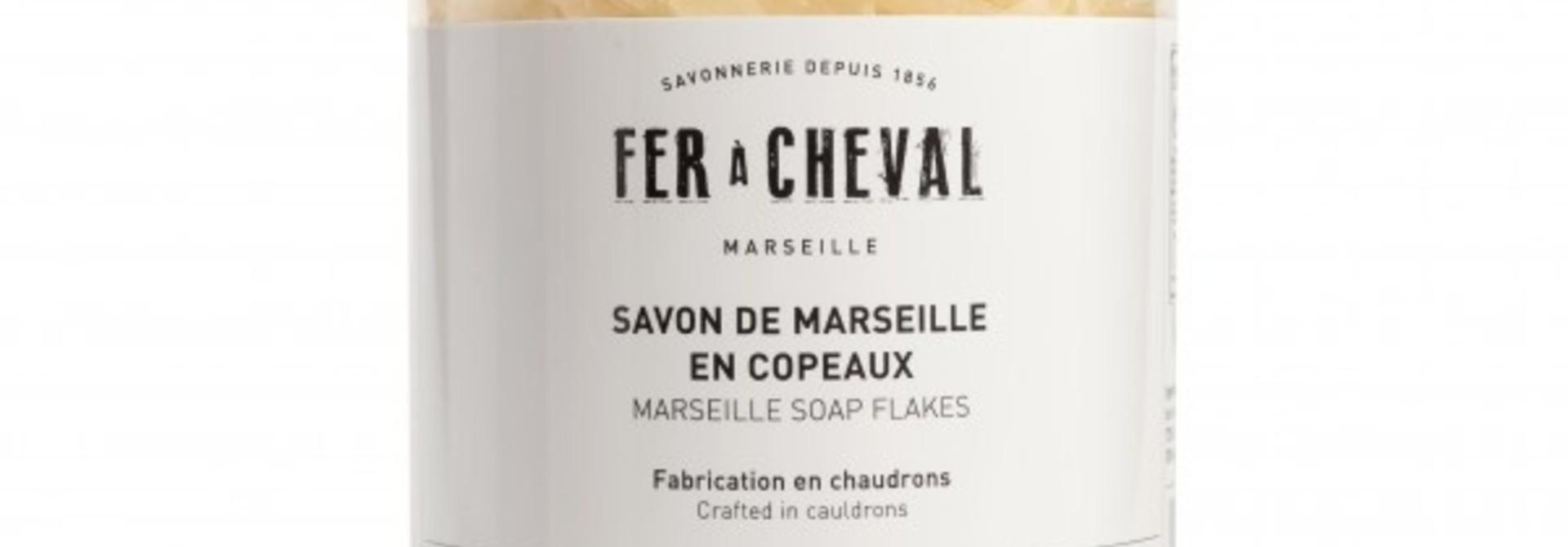 Pot zeepschilfers witte Marseille zeep 400g