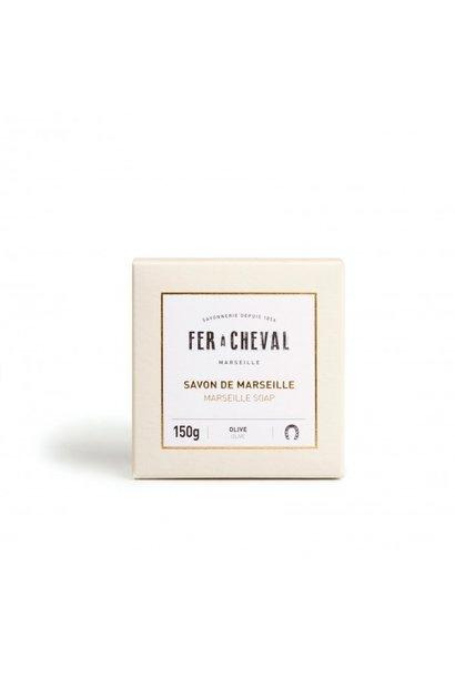 Groene Marseille zeep Premium Cube 150g
