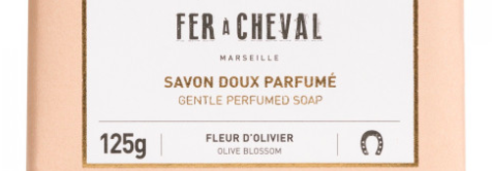 Geparfumeerde Marseille zeep met olijfbloem 125g