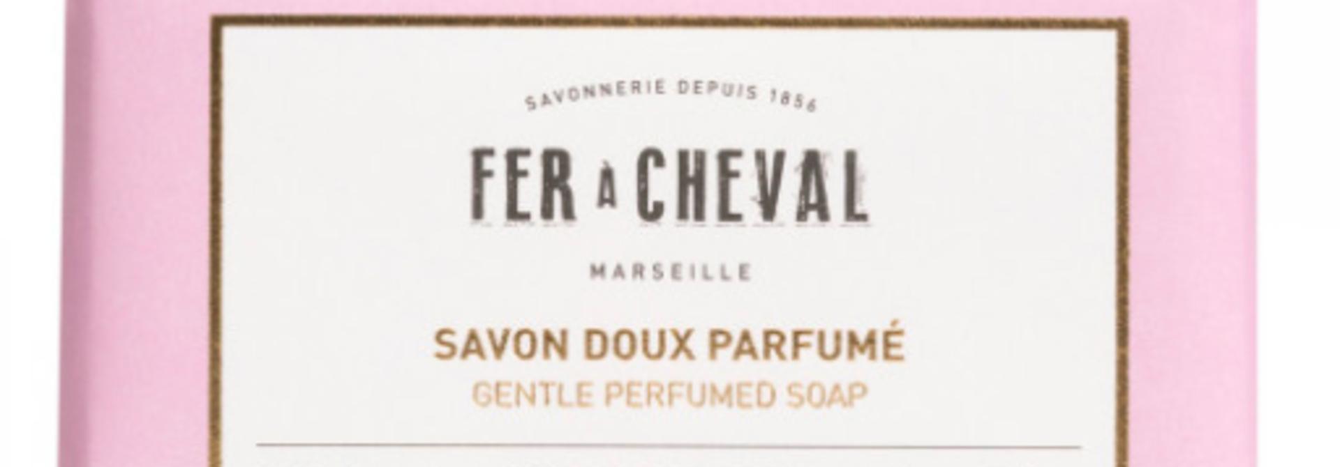 Geparfumeerde Marseille zeep met vijgeblad 125g