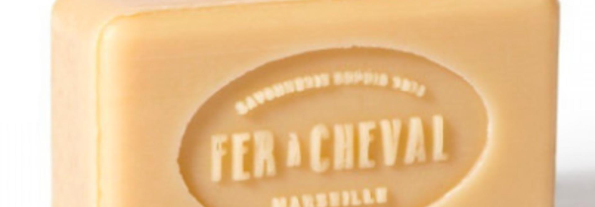 Witte plantaardige Marseille zeep 100g