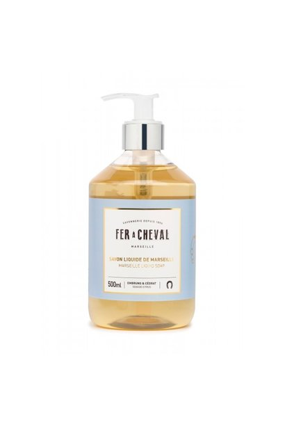 Vloeibare geparfumeerde marseille zeep Citrus & ceder 500ml